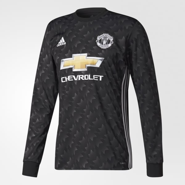 adidas Manchester United Away Mens Long Sleeve Jersey 2017/2018