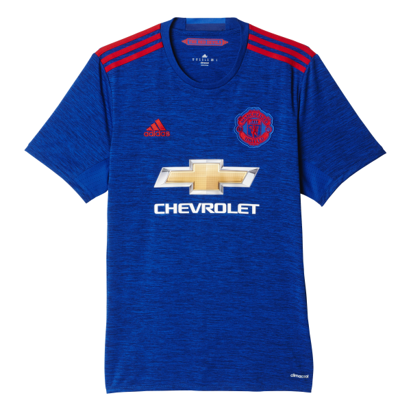 adidas Manchester United Away Mens Short Sleeve Jersey