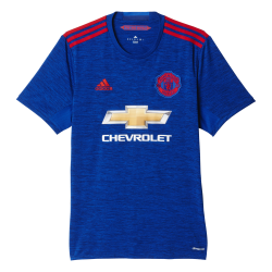 Manchester United Away Mens Short Sleeve Jersey