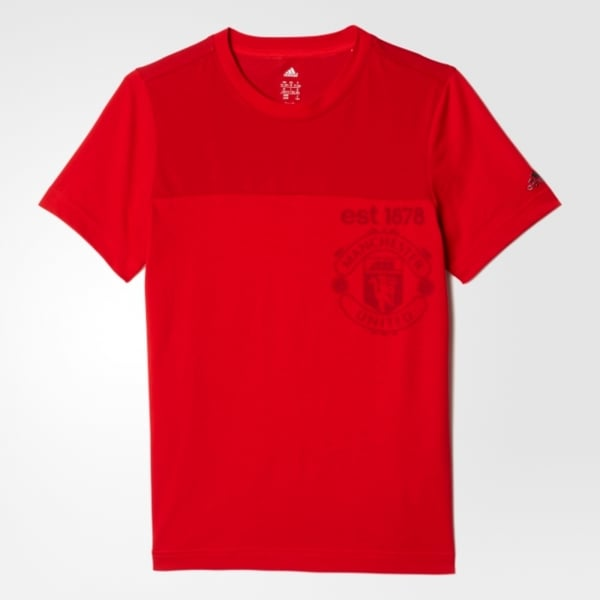 Adidas Manchester United Boys Tee