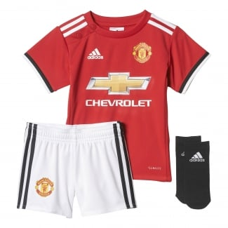 Manchester United Home Baby-Kit 2017/2018