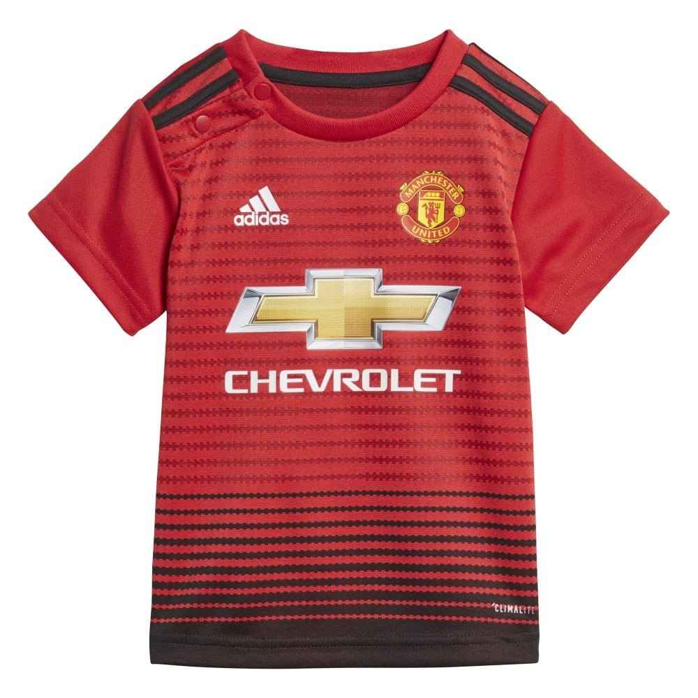 28e71ebf7 Adidas Manchester United Home Baby Kit 2018 2019 - Adidas from ...