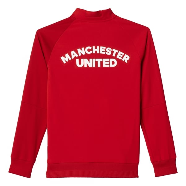 adidas Manchester United Home Junior Anthem Jacket