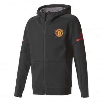 Manchester United Home Junior Anthem Squad Hoodie 2017/2018