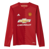 adidas Manchester United Home Junior Long Sleeve Jersey 2016/2017