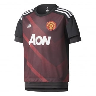Manchester United Home Junior Pre-Match Jersey