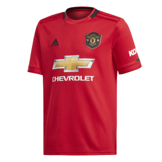 Manchester United Home Junior Short Sleeve Jersey 2019/2020