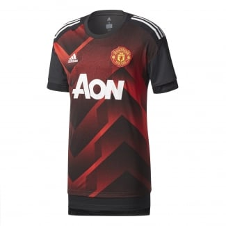 Manchester United Home Mens Pre-Match Jersey 2017/2018