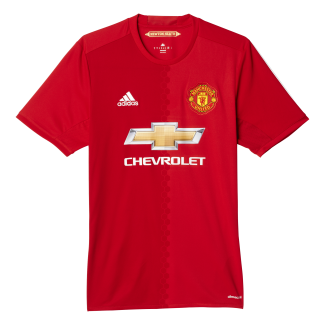 Manchester United Home Mens Short Sleeve Jersey 2016/2017