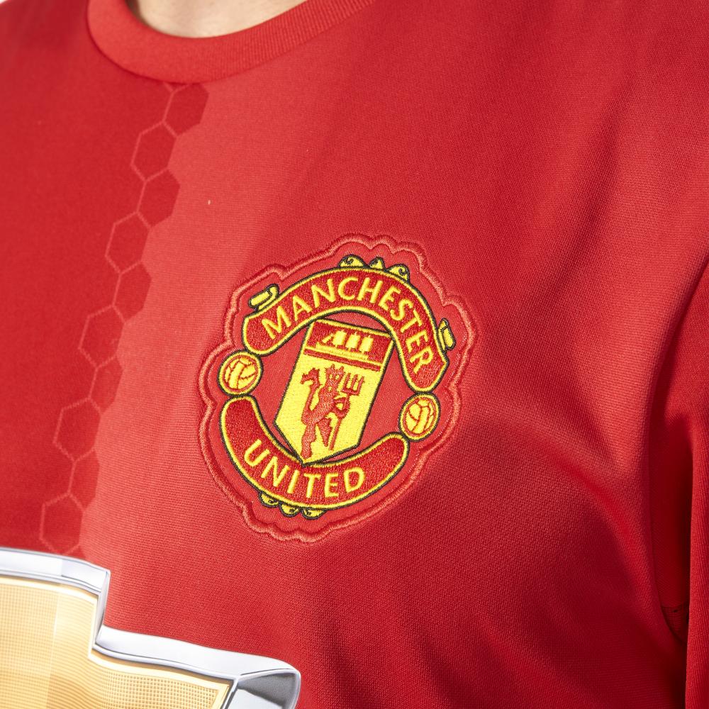 Camiseta oficial corta adidas 19965 de visitante de Manchester visitante United, para mujeres, de manga corta 2016/2017 en f99348b - temperaturamning.website