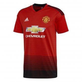 Manchester United Home Mens Short Sleeve Jersey 2018/2019