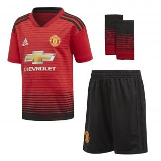 6ce0413e6 Manchester United Home Mini Kit 2018 2019 · Adidas ...