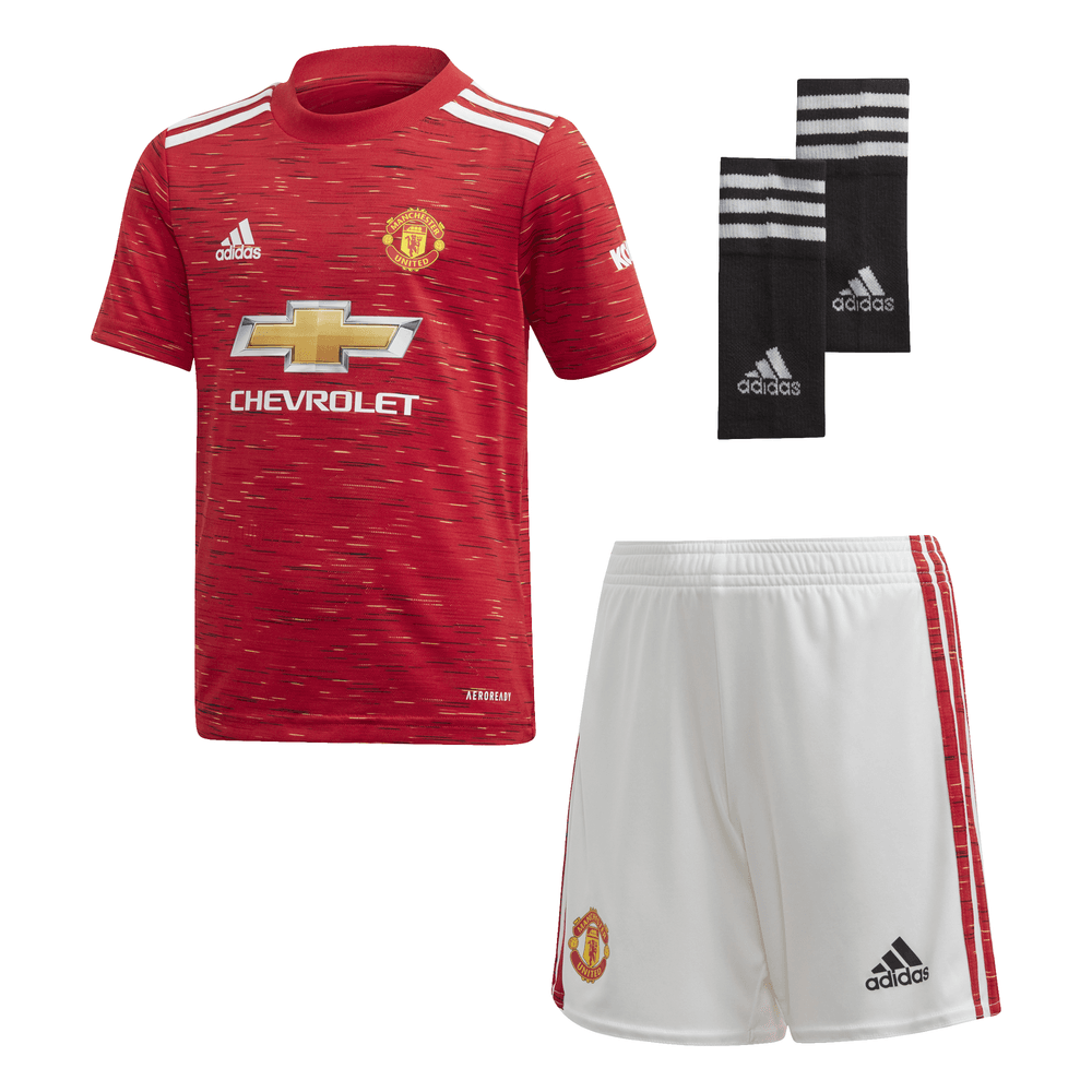 adidas manchester united home mini kit 2020 2021 sport from excell sports uk adidas manchester united home mini kit 2020 2021