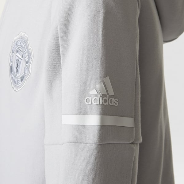 adidas Manchester United Junior Anthem Squad Hoodie