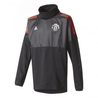 Manchester United Junior Hybrid Training Top