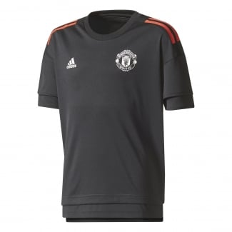 Manchester United Junior Short Sleeve Training Jersey
