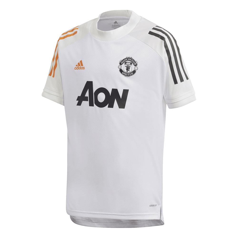 Adidas Manchester United Junior Training Jersey 2020/2021 ...
