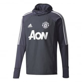 Manchester United Mens Warm Training Top