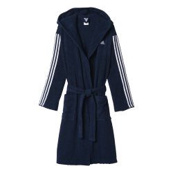 Mens 3 Stripe Bathrobe