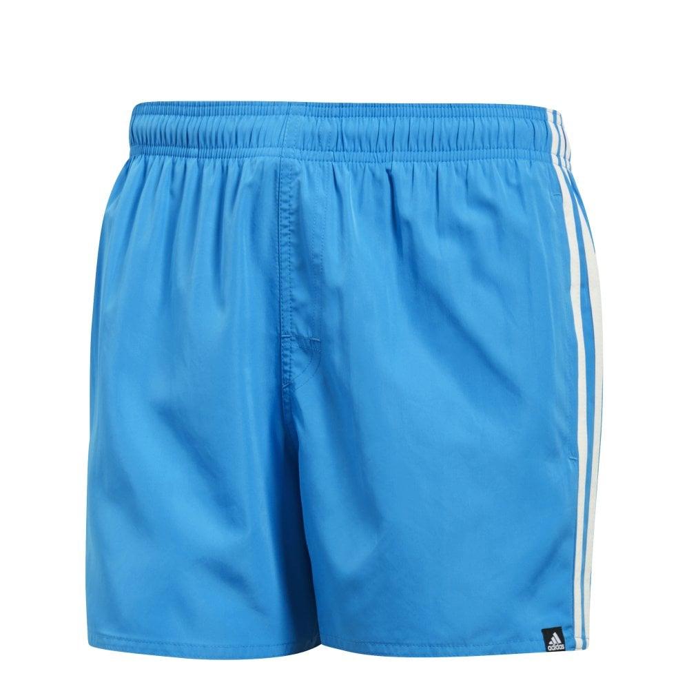 Adidas Mens 3 Stripes Swim Shorts