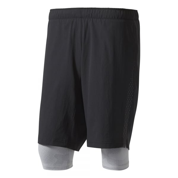 Adidas Mens Crazytrain 2-in-1 Shorts