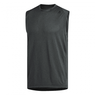 Mens FreeLift Tech Climacool 3-Stripes Tank Top