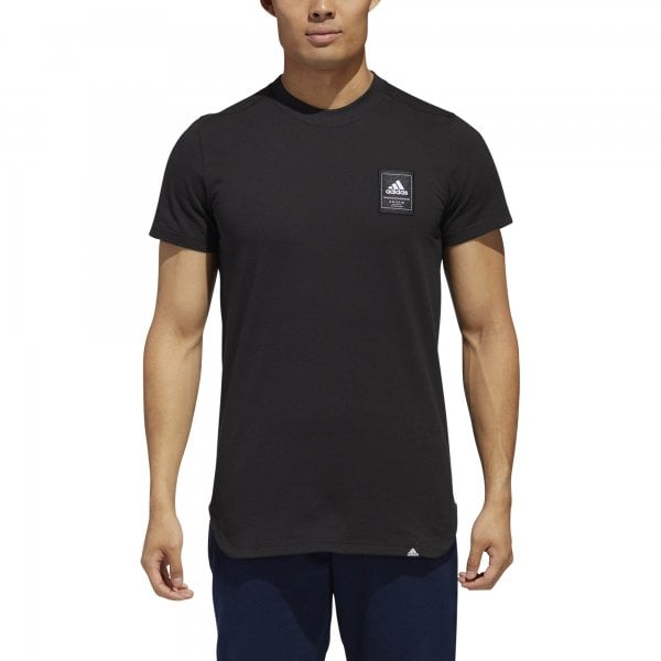 Adidas Mens International Logo Tee