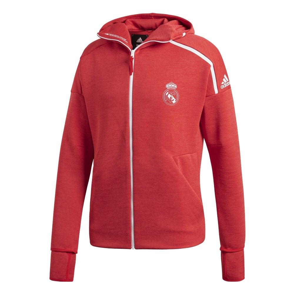 3e4637e17 Adidas Mens Real Madrid Z.N.E. Hoodie - Adidas from Excell Sports UK