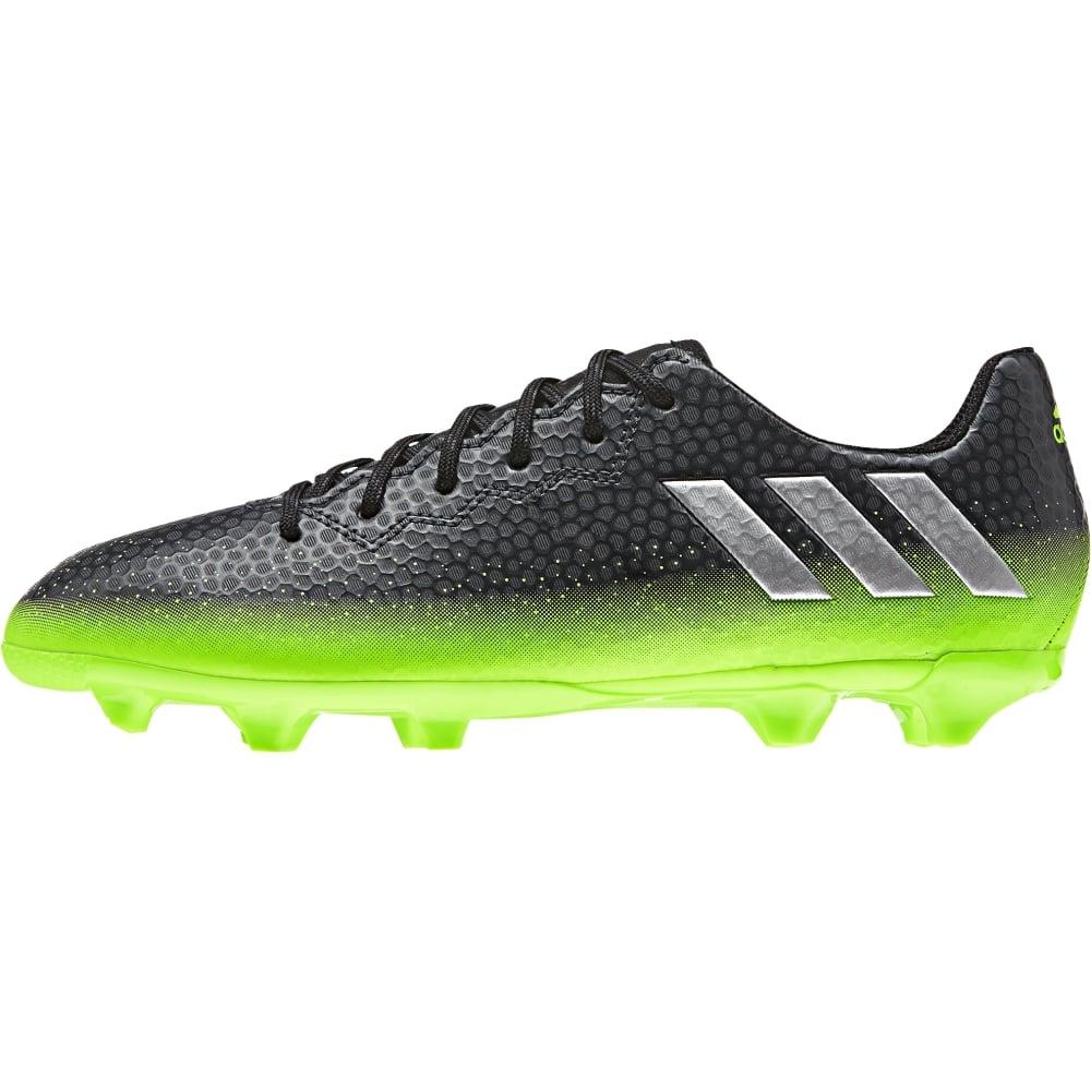 adidas Messi 16.3 Junior FG AG (sizes 3-5.5) in Dark Grey  7ec0498586