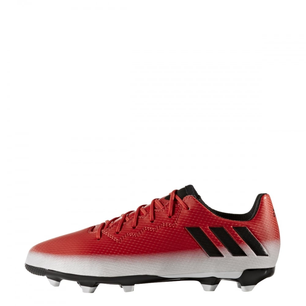 20d772e35d5 adidas Messi 16.3 Junior FG (sizes 3-5.5) in Red | Excell Sports UK
