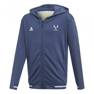 Messi Boys Full-Zip Hoodie