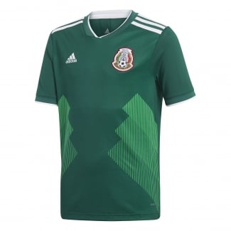 Mexico Home Junior Short Sleeve Jersey 2018