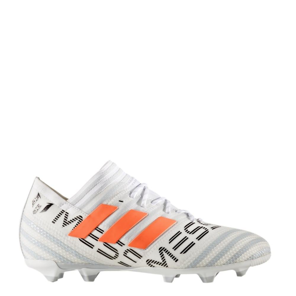 47f02e2801a2 adidas Nemeziz Messi 17.1 Junior FG in White   Excell Sports UK