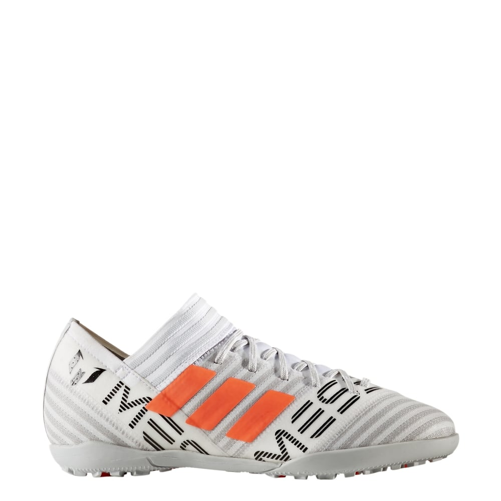 867e1ea9c adidas Nemeziz Messi Tango 17.3 Junior TF in White | Excell Sports UK