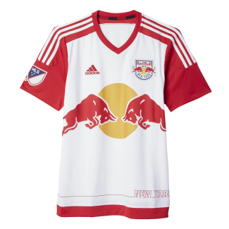 New York Red Bulls Home Mens Short Sleeve Jersey