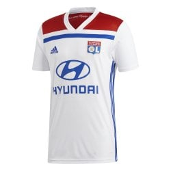 Olympique Lyon Home Mens Short Sleeve Jersey 2018/2019