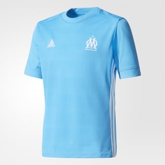 Olympique Marseille Away Junior Short Sleeve Jersey 2017/2018