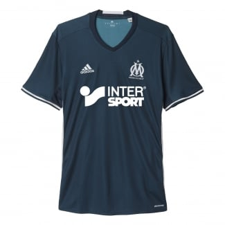 Olympique Marseille Away Mens Short Sleeve Jersey 2016/2017