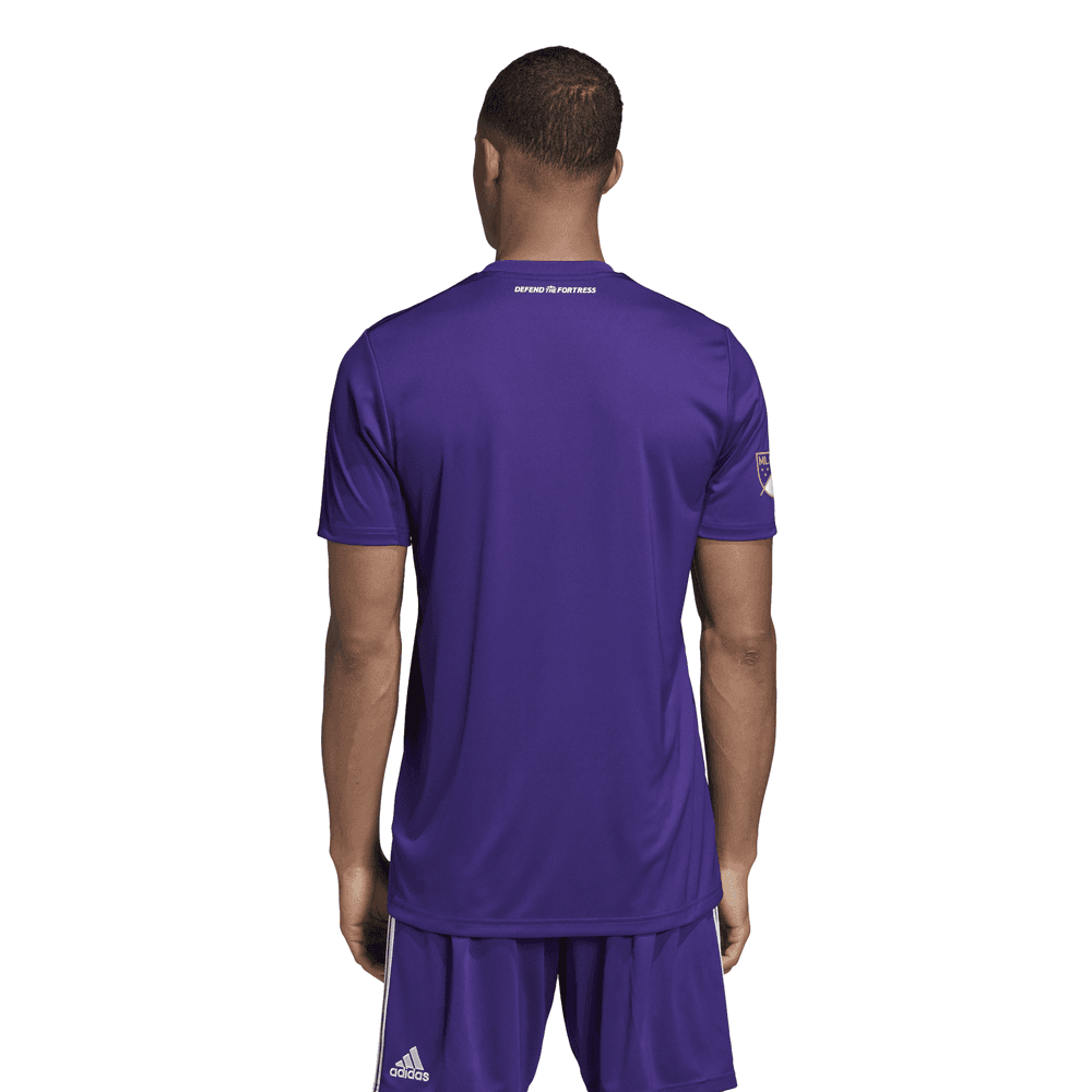 premium selection f1e55 de131 Adidas Orlando City Home Mens Short Sleeve Jersey 2019