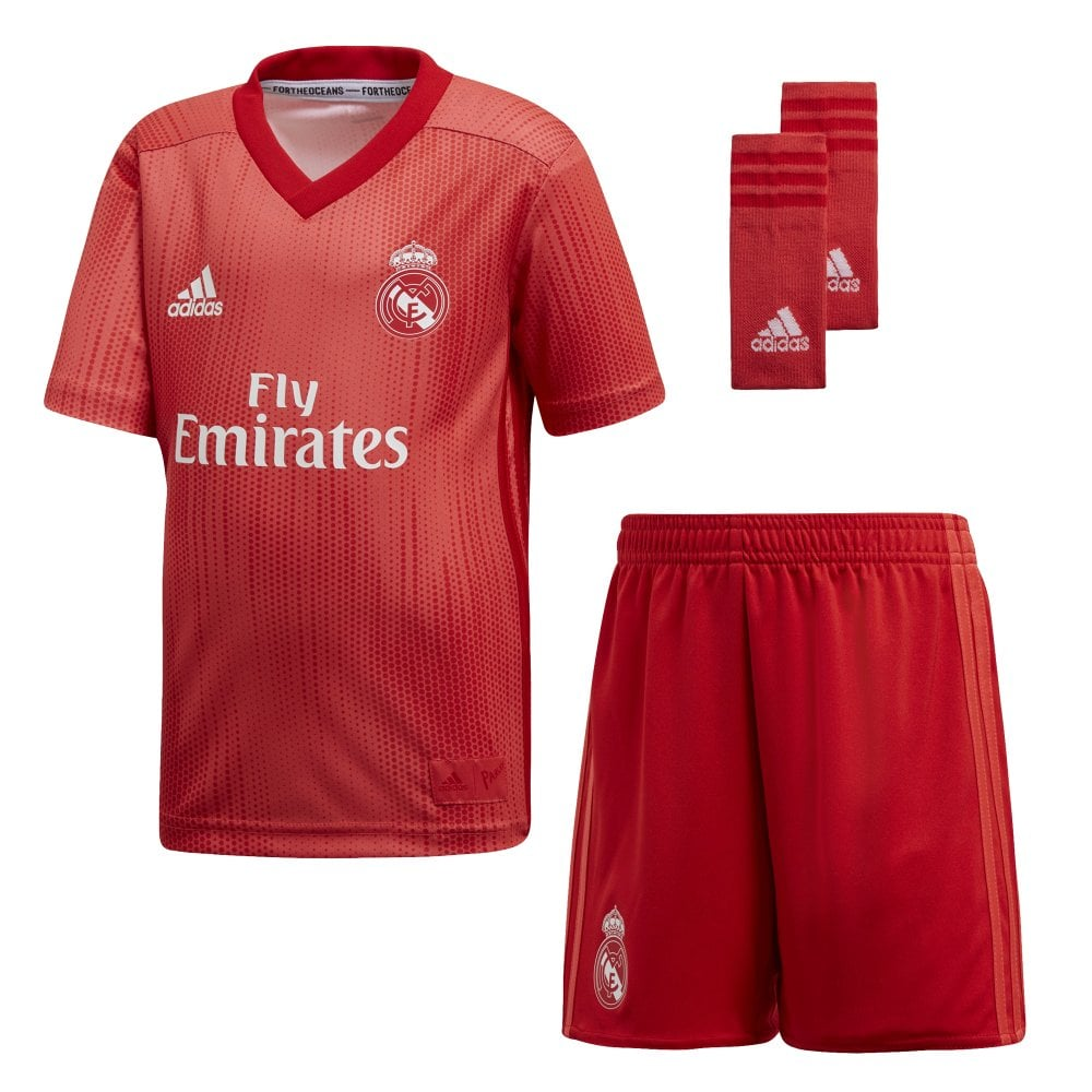 c2c975a0c Adidas Real Madrid 3rd Mini Kit 2018 2019 - Adidas from Excell Sports UK