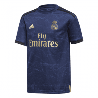 Real Madrid Away Junior Short Sleeve Jersey 2019/2020