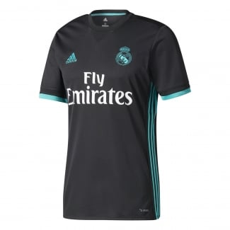 Real Madrid Away Mens Short Sleeve Jersey 2017/2018