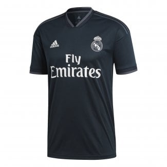 Real Madrid Away Mens Short Sleeve Jersey 2018/2019