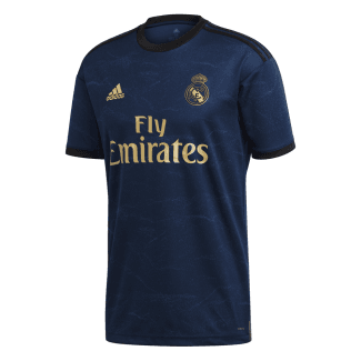 Real Madrid Away Mens Short Sleeve Jersey 2019/2020