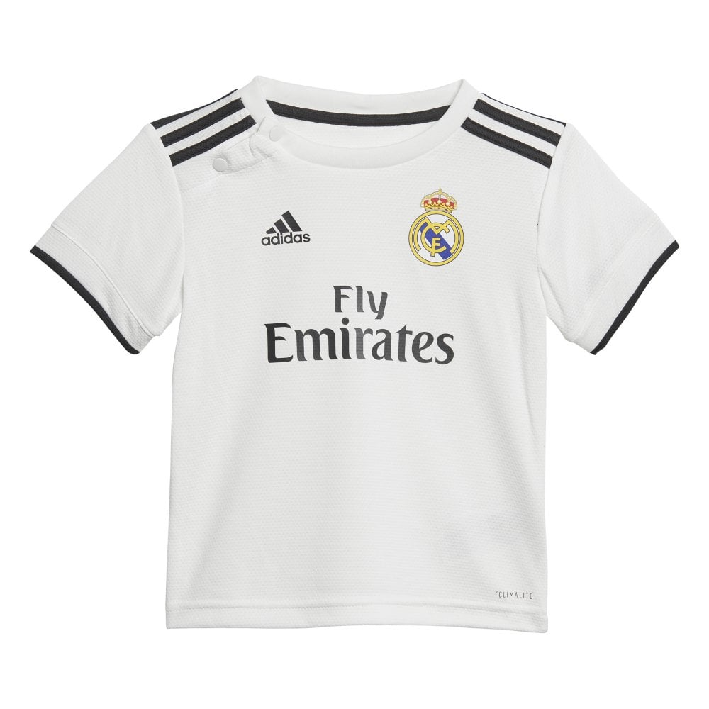 49784f14a Adidas Real Madrid Home Baby Kit 2018 2019 - Adidas from Excell ...