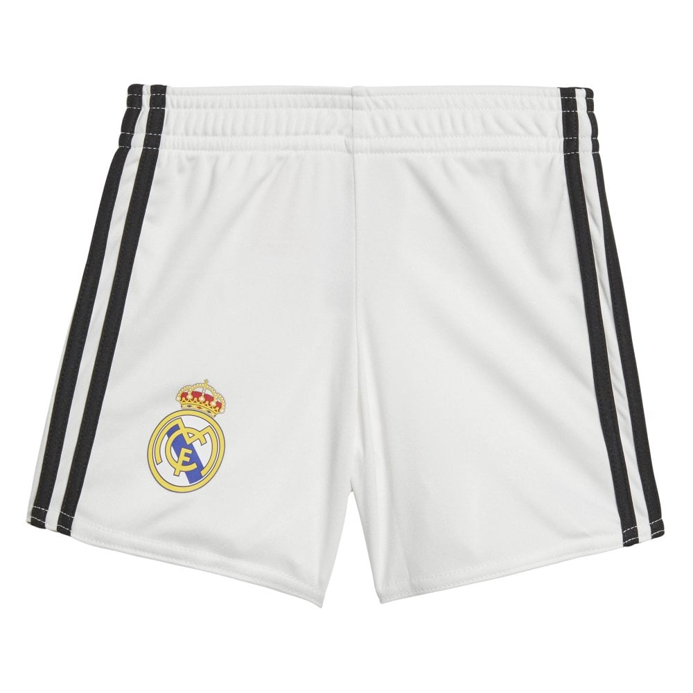 ea8cebe61 Adidas Real Madrid Home Baby Kit 2018 2019 - Adidas from Excell Sports UK