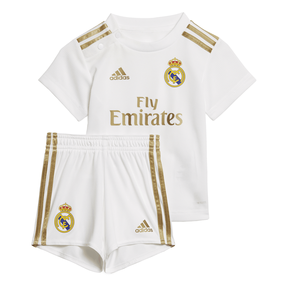 d5b131a934a Adidas Real Madrid Home Baby Kit 2019/2020 - Adidas from Excell Sports UK