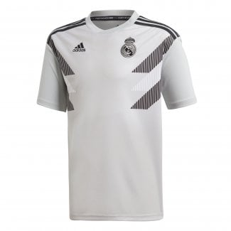 3b1a9be07f8 Real Madrid Home Junior Pre-Match Jersey