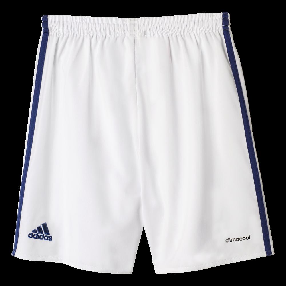 buy online 4d2db 5b5cf Adidas Real Madrid Home Junior Short 2016 2017 ...
