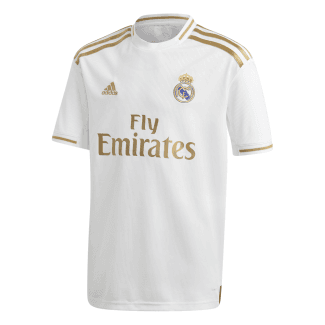 Real Madrid Home Junior Short Sleeve Jersey 2019/2020